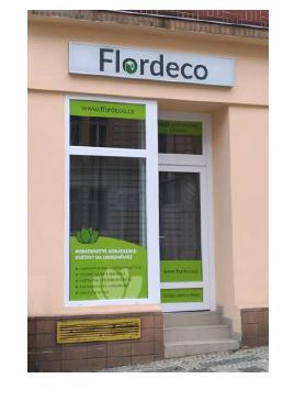 Obchod Flordeco - Praha 5